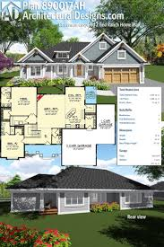 111 best craftsman house plans images on pinterest craftsman enjoy one level living with architectural designs craftsman inspired 2 bed ranch home plan