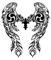 tribal wings by annikki on deviantart