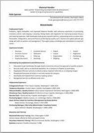 Material Handler Resume Examples by Material Handler Resume Cover Letter Christen Grove Legal