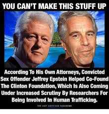 Human Trafficking Meme - you can t make this stuff up according to his own attorneys