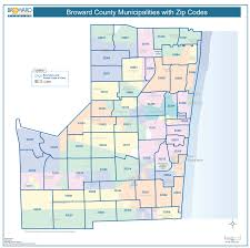 Fl Zip Code Map by Zip Code Map Broward County Zip Code Map