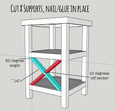 Free Woodworking Plans Small End Table by Best 25 Tall End Tables Ideas On Pinterest Diy Furniture Plans