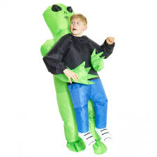 Inflatable Halloween Costumes Kids Kids Pick Alien Inflatable Costume Morph Costumes