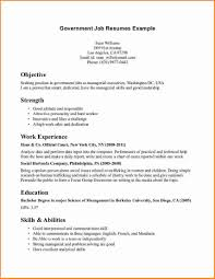 Job Resume Details by Job Example Of Job Resume