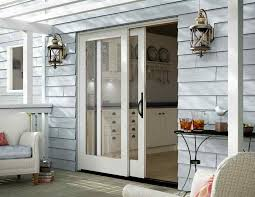 Patio Door Glass Replacement Cost Patio Andersen Sliding Doors Exterior Sliding Glass Door