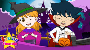 trick or treat halloween song happy halloween day english