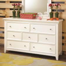 Haynes Furniture Bedroom Dressers Lea Industries Willow Run Twin Low Loft Bed With Bookshelf