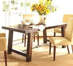 pottery barn dining room tables pottery barn dining room table unique benchwright fixed dining table