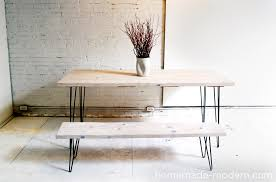 Sofa Legs Home Depot by Homemade Modern Ep3 Wood Iron Table