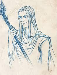 image curunir in valinor by vigshane d42ci95 jpg the one wiki