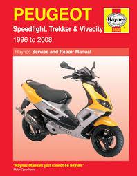 peugeot speedfight trekker u0026 vivacity scooters 96 08 haynes