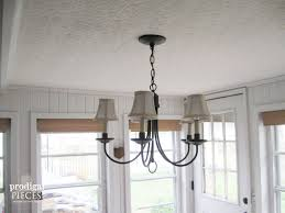 Farmhouse Lighting Chandelier diy farmhouse lighting kitchen remodel continues prodigal pieces