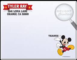 mickey mouse thank you cards mickey mouse thank you cards di 303ty harrison greetings