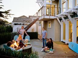 Firepit Swing by Outdoor Fire Pit Ideas And Designs Coastal Living