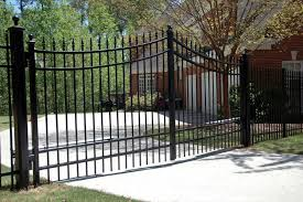 ornamental iron allied fence