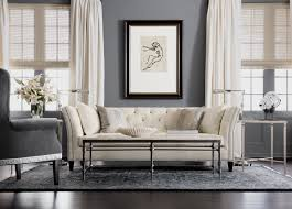 furniture modern tufted ethan allen sectional sofas with white