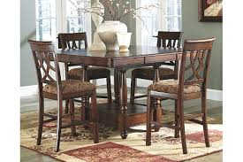 Leahlyn Counter Height Dining Room Table Ashley Furniture HomeStore - Countertop dining room sets