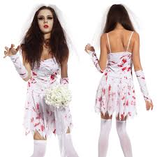 womens ghost halloween costumes ladies zombie costume undead scary horr ghost halloween hen night