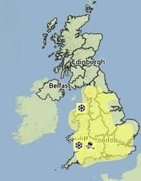 will it snow tomorrow met office weather warning for and
