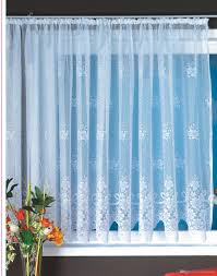 on sale polyester lace big window curtains for lace bay curtain
