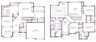 richmond single scenic view floor plans kay builders floorplans
