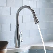 Kohler K 596 Vs Simplice by Kohler K 780 Cp Cruette Pull Down Kitchen Faucet Chrome Touch