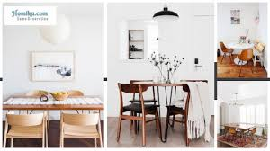 No Dining Room 38 Modern Minimalist Dining Room Decor For Space Saver Homiku