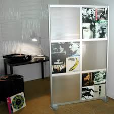 great room decorations with minimalist stainless frame devider and