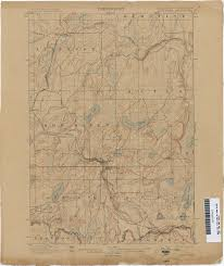 Michigan River Map by