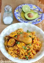 rice cuisine arroz atollado de pollo y chorizo rice with chicken and
