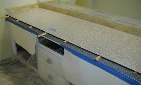 How To Remove A Kitchen Countertop - project bathroom vanity with laminate over laminate u2013 front porch