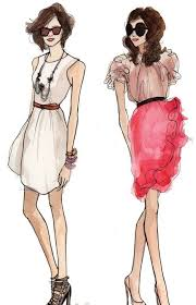46 best fashion sketches images on pinterest fashion sketches