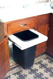 trash cans for kitchen cabinets kitchen trash can cabinet willazosienka com
