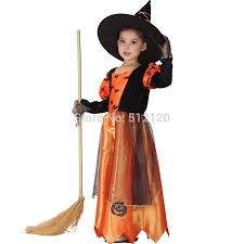 children kids baby girls halloween carnival party pumpkin