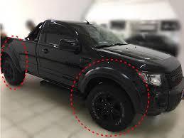 Muito Alargadores Paralamas Ford Ranger Cabine Simples 2013 2014 2015  &QX54