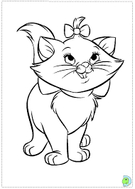 disney coloring pages marie drawings disney coloring