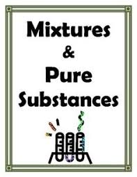 classifying matter mixtures and pure substances worksheet atoms