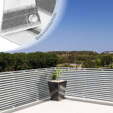 balkon sichtschutz grau balkon sichtschutz grau weiß gestreift 90x500cm dayton de