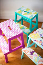 ikea step stool rroom me diy wallpaper stools this little street this little street