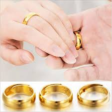 vintage rings wedding images 2018 2017 new luxury simple wedding charm beautiful 18k gold rings jpg