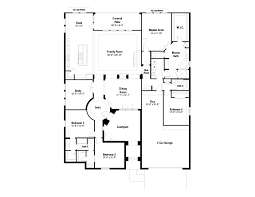 buckingham floor plan at crystal falls grand view in leander tx
