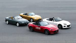 mazda car line mazda rolls one millionth miata off the line autotalk