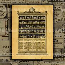 1800 u0027s vintage apothecary cabinet digital download