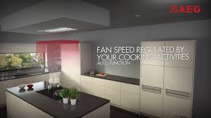 Recirculating Cooker Hood Hob2hood Connect Ceiling Aeg Hob Cooker Hood Youtube