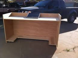 Building A Reception Desk Reception Desk 1 Project Completed In 2 Days I Needed 4 Days Of