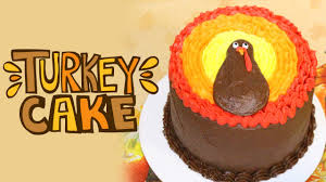 thanksgiving cupcake decorating ideas thanksgiving turkey cake tutorial tastydelights youtube