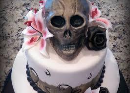 skull cake rock sugar