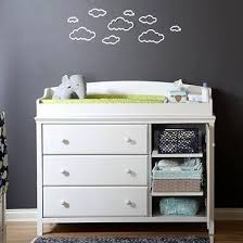 south shore cotton candy changing table with drawers soft gray south shore cotton candy changing table with 3 drawers 2 shelves