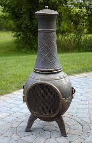 Homemade Chiminea 55 Best Backyard Retreats With Fire Pits Chimineas Fire Pots