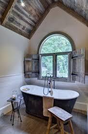 bathroom wood ceiling ideas beautiful bathroom the exposed wood ceiling plank wood on